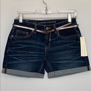NWT- LAUREN CONRAD Jeans Shorts SIZE 2